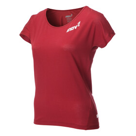 inov-8 AT/C Dri Release - T-shirt course à pied Femme - rouge
